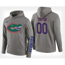 Florida Gators #00 Custom Gray Hoodie College Basketball