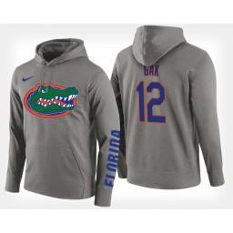 Florida Gators #12 Gorjok Gak Gray Hoodie College Basketball