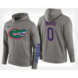Florida Gators #0 Mike Okauru Gray Hoodie College Basketball