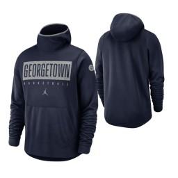 Georgetown Hoyas Navy Spotlight Basketball Hoodie
