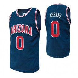 Youth Arizona Wildcats #0 Gilbert Arenas Navy Authentic College Basketball Jersey