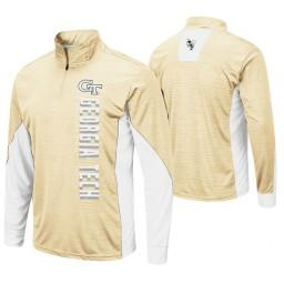 Georgia Tech Yellow Jackets Gold Bart Windshirt Pullover Jacket