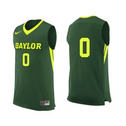 Youth Baylor Bears #0 Jo Lual-Acuil Jr. Authentic College Basketball Jersey Green