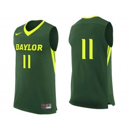 Youth Baylor Bears #11 Mark Vital Authentic College Basketball Jersey Green