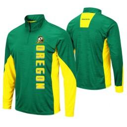 Oregon Ducks Green Bart Windshirt Pullover Jacket