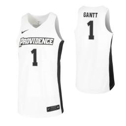 Women's Greg Gantt Authentic College Basketball Jersey White Providence Friars