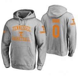 Tennessee Volunteers #0 Jordan Bone Men's Heathered Gray College Basketball Hoodie