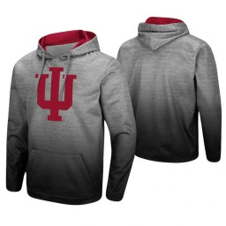Indiana Hoosiers Heathered Gray Sitwell Sublimated Pullover Hoodie