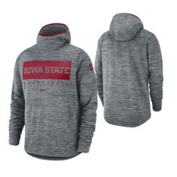 Iowa State Cyclones Gray Spotlight Basketball Hoodie