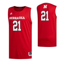Women's Nebraska Cornhuskers 21 Jace Piatkowski Authentic College Basketball Jersey Scarlet