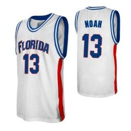 Women's Florida Gators #13 Joakim Noah White Authentic College Basketball Jersey