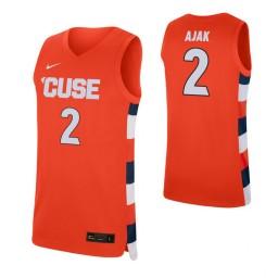 Women's John Bol Ajak Authentic College Basketball Jersey Orange Syracuse Orange
