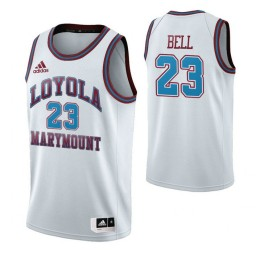 Youth Loyola Marymount Lions #23 Jordan Bell White Authentic College Basketball Jersey