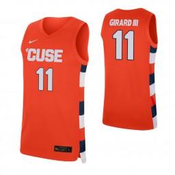 Women's Joseph Girard III Authentic College Basketball Jersey Orange Syracuse Orange