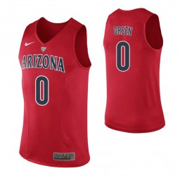 Youth Arizona Wildcats #0 Josh Green Red Authentic College Basketball Jersey