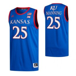 Youth Danny Manning Kansas Jayhawks Royal Authentic College Basketball Jersey