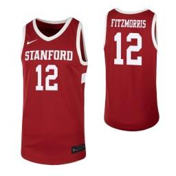 Women's Keenan Fitzmorris Authentic College Basketball Jersey Cardinal Stanford Cardinal