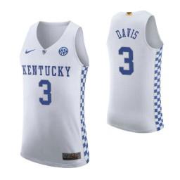 Bam Adebayo Kentucky Wildcats White Authentic College Basketball Jersey