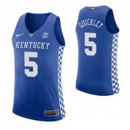 Immanuel Quickley Kentucky Wildcats Royal Authentic College Basketball Jersey