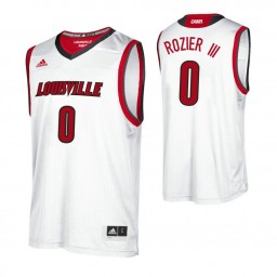 Women's Louisville Cardinals #0 Terry Rozier III Authentic College Basketball Jersey White