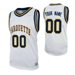 Marquette Golden Eagles Custom College Basketball Alumni Jersey White