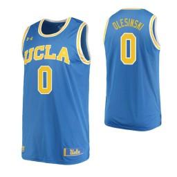 Women's UCLA Bruins #0 Alex Olesinski Home Authentic College Basketball Jersey Blue