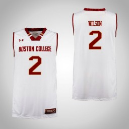 Boston College Eagles #2 Avery Wilson Authentic College Basketball Jersey Cardinal