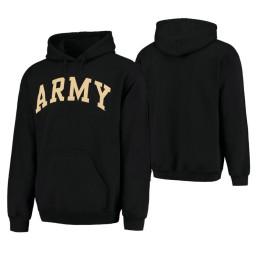 Army Black Knights Men's Black Pullover Hoodie