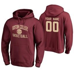 Boston College Eagles Custom Maroon Personalized Hoodie