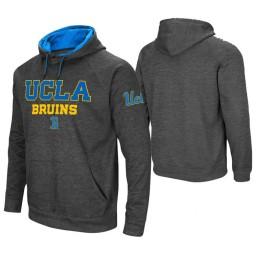 UCLA Bruins Men's Charcoal Pullover Hoodie