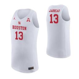 Youth Houston Cougars #13 Dejon Jarreau Authentic College Basketball Jersey White