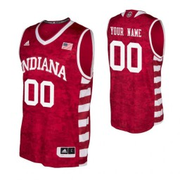 Replica Indiana Hoosiers Custom Armed Forces Classic Jersey Crimson