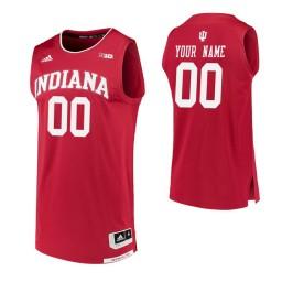 Replica Indiana Hoosiers Custom College Basketball Jersey Crimson