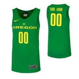 Replica Oregon Ducks Custom College Basketball Jersey Green
