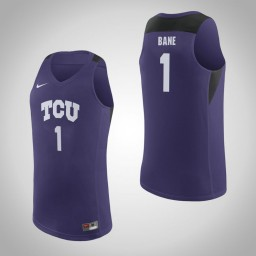 Youth TCU Horned Frogs #1 Desmond Bane Authentic College Basketball Jersey Purple