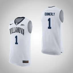 Youth Villanova Wildcats #1 Jahvon Quinerly Road Authentic College Basketball Jersey White