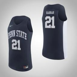 Penn State Nittany Lions #21 John Harrar Authentic College Basketball Jersey Navy