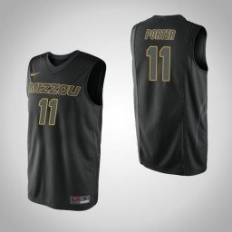 Youth Missouri Tigers #11 Jontay Porter Authentic College Basketball Jersey Black