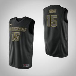 Youth Missouri Tigers #15 Jordan Geist Authentic College Basketball Jersey Black