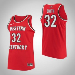 Western Kentucky #32 Kayla Smith Performance Authentic College Basketball Jersey Red