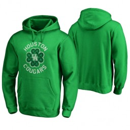 Houston Cougars Men's Kelly Green Fanatics Branded Hoodie