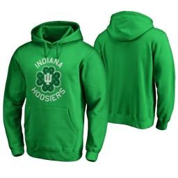 Indiana Hoosiers Men's Kelly Green Fanatics Branded Hoodie