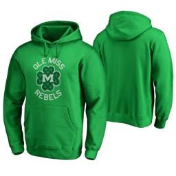 Ole Miss Rebels Men's Kelly Green Fanatics Branded Hoodie