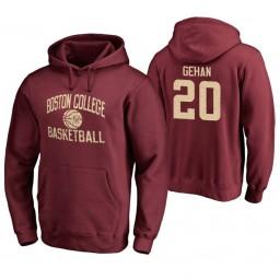 Men's Boston College Eagles Gordon Gehan Personalized Maroon Hoodie