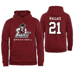 Men's New Mexico State Aggies Addison Wallace Personalized Maroon Hoodie