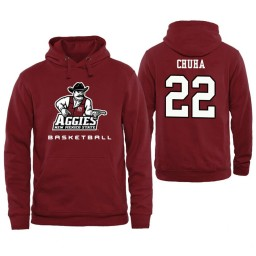 Men's New Mexico State Aggies Eli Chuha Personalized Maroon Hoodie