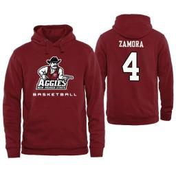 Men's New Mexico State Aggies JoJo Zamora Personalized Maroon Hoodie