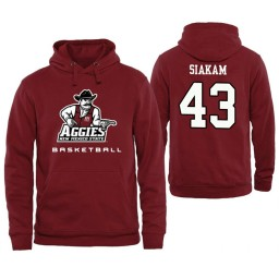 Men's New Mexico State Aggies Pascal Siakam Personalized Maroon Hoodie