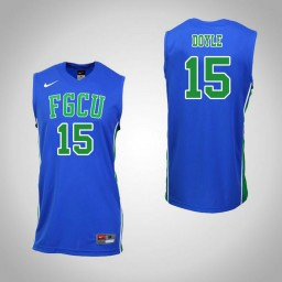 Women's Florida Gulf Coast Eagles #15 Ricky Doyle Authentic College Basketball Jersey Royal