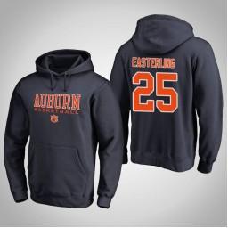 Auburn Tigers #25 Brett Easterling Men's Navy College Basketball Hoodie